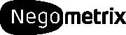 Logo Negometrix zwart